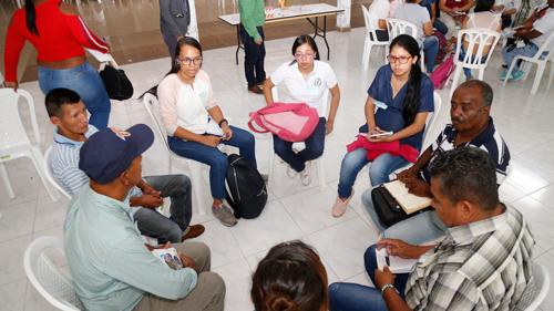 Diálogo regional en el norte del Cauca para construcción del POD