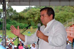 gobernador del Cauca, Óscar Rodrigo Campo Hurtado