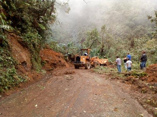 Emergencias por lluvias en el Cauca