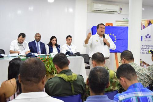 En audiencia de Defensoría del Pueblo, gobernador reitera la necesidad de consolidar programas de restitución en el Cauca