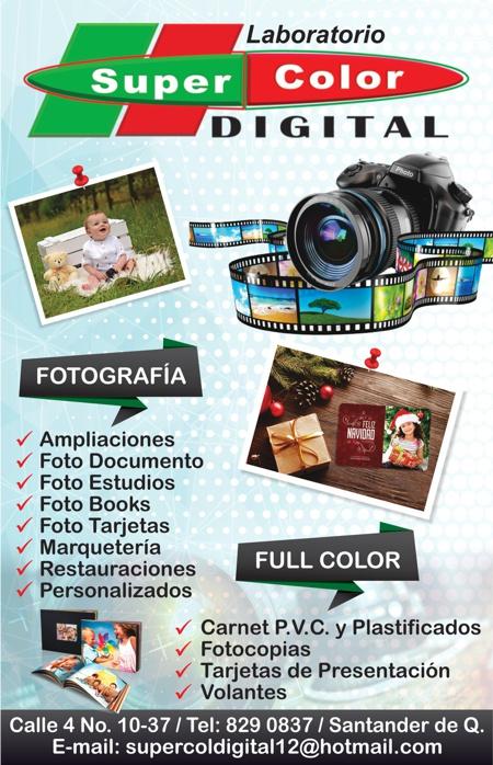 Laboratorio Super Color Digital - Santander de Quilichao
