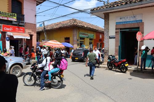 Espacio público Santander de Quilichao
