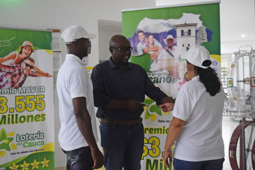 Ganadores del premio mayor de la Lotería del Cauca en Quilichao