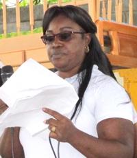 Norvy Yaneth Viáfara, secretaria de salud municipal de Guachené