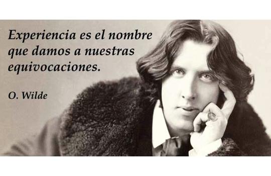 Oscar Wilde, José y el campo de lo lógico