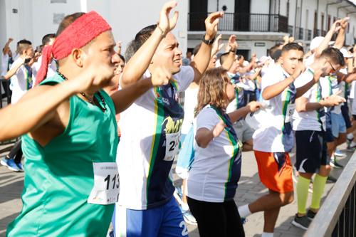 Más de 3.000 personas impusieron el récordnacional de la buena energía con la Media Maratón del Cauca