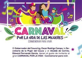 Participa del Carnaval por la Vida de las Mujeres