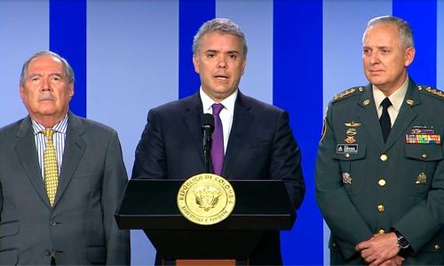 Presidente cambió la cúpula Militar y de Policía