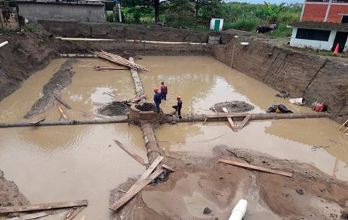 Excavación de tanques