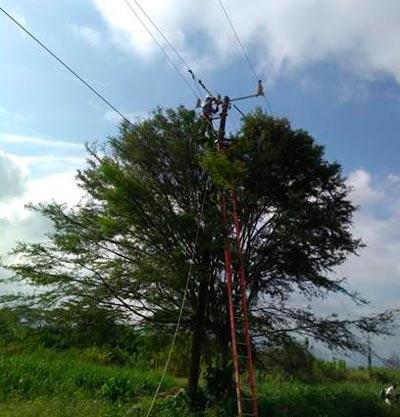Afectada la prestación del servicio de energía al norte del Cauca