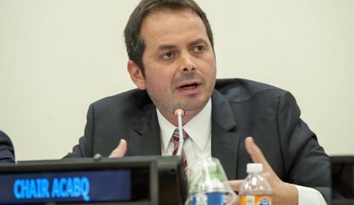 Carlos Ruiz es jefe de la Misión de Verificación de la ONU