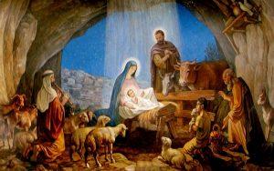 Jesús nace en un establo