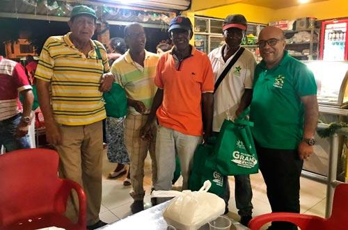 vendedores de lotería