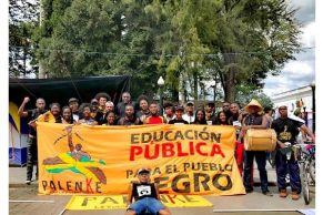 Se consolida colectivo Palenke Universitario del Cauca