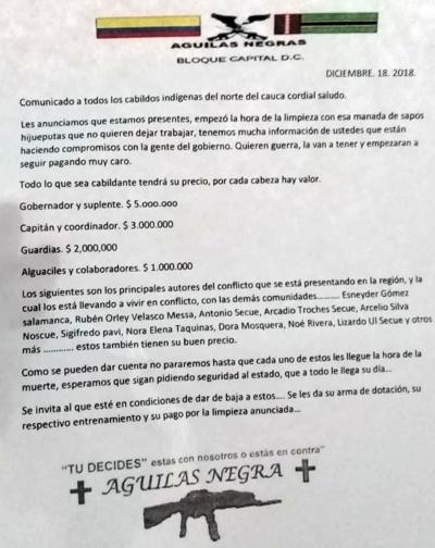 Resguardo de Huellas declaró Alerta de Navidad