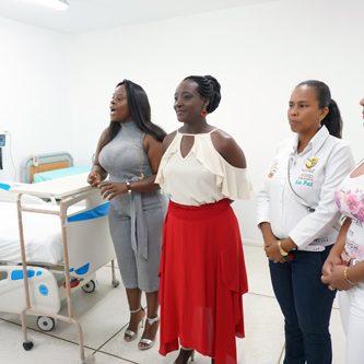 Sala de partos del Hospital de Villa Rica, ahora será un servicio de alta calidad para las gestantes de la región