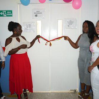 Sala de partos del Hospital de Villa Rica