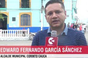 Alcalde de Corinto entrega ayudas humanitarias