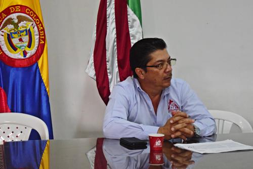 Gerardo Montenegro Paz, director Ejecutivo del Comité de Cafeteros del Cauca