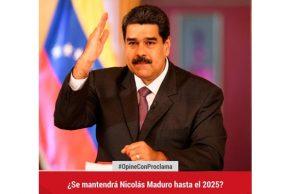 ¿Se mantendrá Nicolás Maduro hasta el 2025?