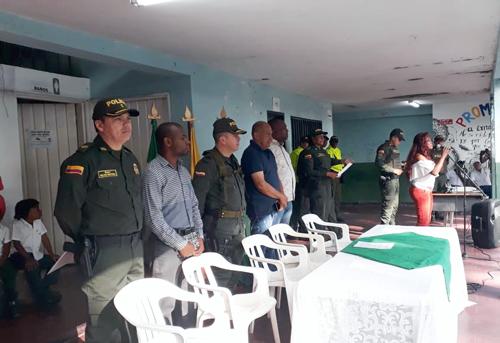 Policía Nacional realiza lanzamiento de regreso a clases en Puerto Tejada