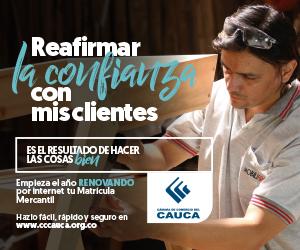 Renovación Mercantil 2019 de la Cámara de Comercio del Cauca