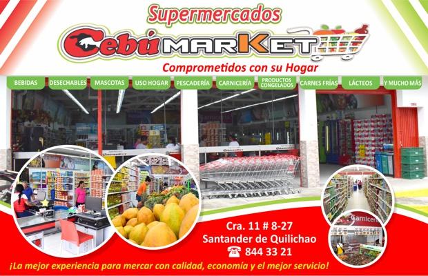 Supermercados Cebú Market en Santander de Quilichao
