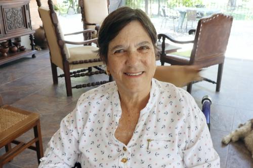 """Margarita Londoño: """"Pluma divertida y cáustica""""."""