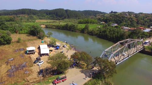 El río Cauca es el segundo más importante de Colombia, nace en la Laguna del Buey, Macizo Colombiano