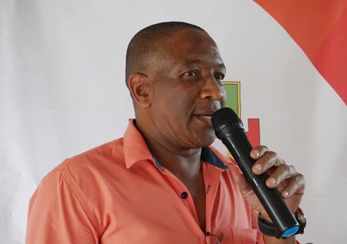 Genier Balanta, presidente de la JAC Morales Duque