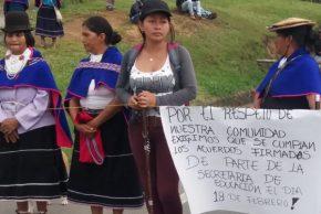 """title=""""Indígenas bloquearon nuevamente la Panamericana"""""""