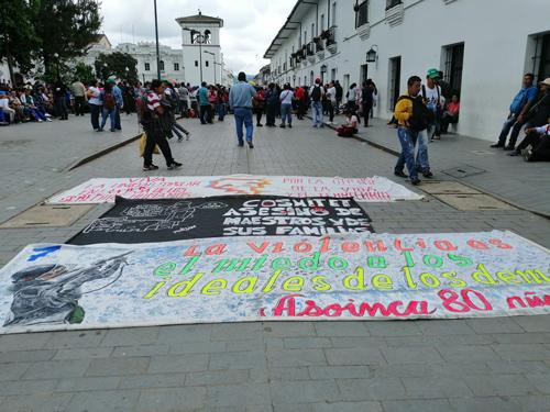 Se mantiene paro campesino en el Cauca