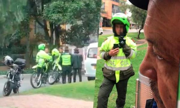 """A LOS POLICÍAS ANTES LES GRITABAN """"TOMBOS"""" AHORA LES GRITAN """"EMPANADAS"""""""