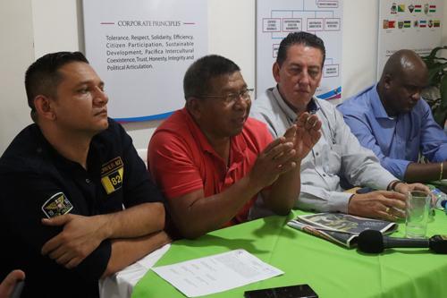 Alcibiades Escué, alcalde de Toribío