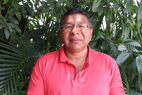 Alcibiades Escué Musicué, alcalde del municipio de Toribío en el Departamento del Cauca