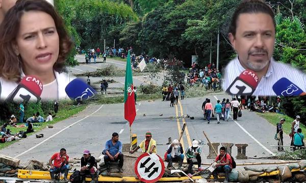 Comisión del Gobierno Nacional no pudo dialogar en Santander de Quilichao