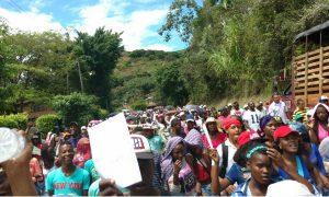 Comunidades afros también se declaran en asamblea permanente