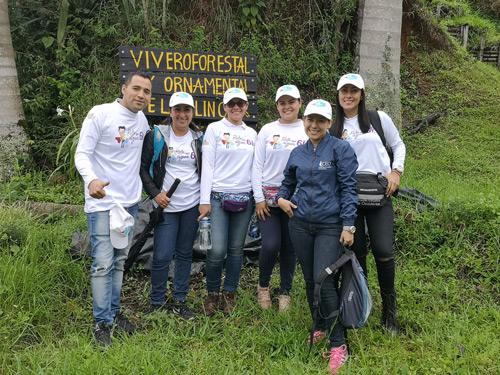 Así mismo, visitaron el Vivero Forestal y Ornamental el Molino