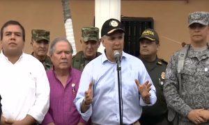 Gobernador solicita al presidente iniciar diálogos con movilizados sobre la Panamericana