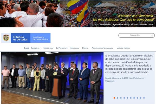 Impresión negativa deja presentación del portal de la Presidencia