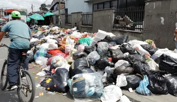 Los Picachos, botadero de basura o relleno sanitario