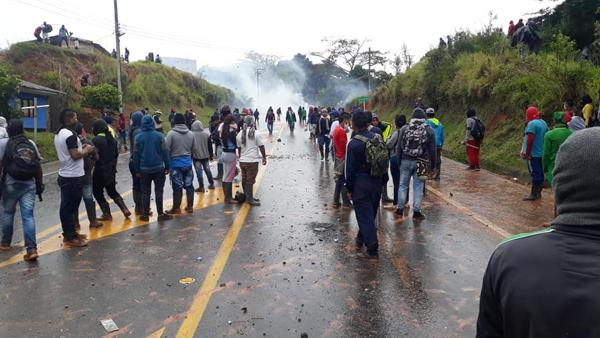 Otra semana de bloqueo en el sur del país