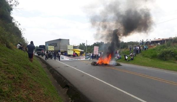 Panamericana: 63 bloqueos en 33 años