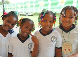 Parque ecológico para la alegría de niños de San Jacinto