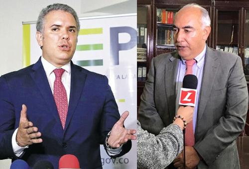 Presidente Ivan Duque - Representante Carlos Julio Bonilla