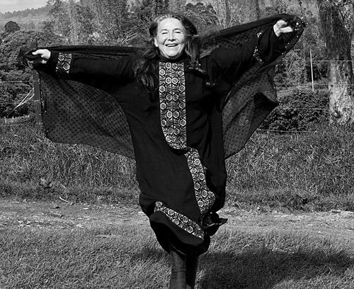 Marga López Díaz llega volando