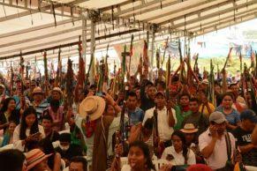 Organizaciones en Minga exigen presencia del presidente Duque