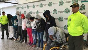 Banda delincuencial Los Panas desmantelada en Popayán