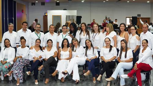 El personal administrativo y de servicios que presta el Hospital Francisco de Paula Santander en compromiso con los principios de transparencia y participación ciudadana