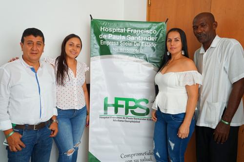 """""""Hemos crecido en servicios, con cero deudas y en diciembre estrenaremos nueva hospital"""": Orlan Mina, gerente HFPS."""